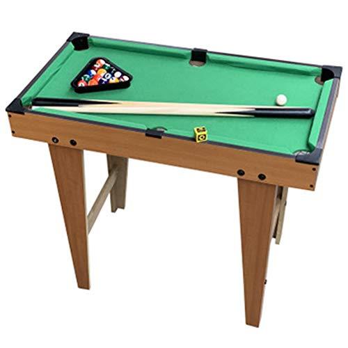 TFACR Interaktives Sport-Billardtischspiel - Billardtisch drinnen und draußen Zubehör einschließen, Mini-Pool Table für Kinder