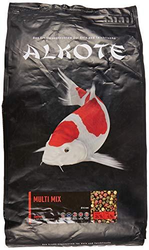 AL-KO-TE, 1-Jahreszeitenfutter für Kois, Sommermonate, Schwimmende Pellets, 6 mm, Hauptfutter Multi Mix, 3 kg