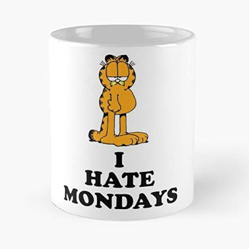 Tv Friends and Show Garfield Cartoon 80S Childhood Retro Best 11 oz Kaffeebecher - Nespresso Tassen Kaffee Motive