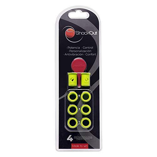 ShockOut Padel Dampers - Sistema antivibratorio para raquetas de pádel - Color amarillo