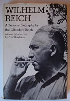 Hardcover Wilhelm Reich; a personal biography Book