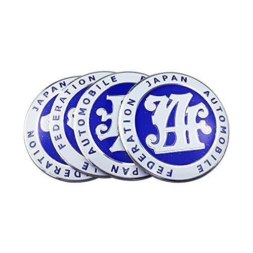 Adhesivo para coche de neumáticos JDM para centro de coche, para Corolla Polo (Color: Azul)