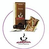 200 monodosis de 7 gramos de papel ESE de 44 mm de diámetro de café Covim