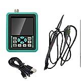Bonarty Osciloscopio Digital con Sonda USB Recargable DIY Reparación Eléctrica