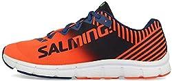 cheap Salming Men's Miles Lite Gym Workout Sneakers Orange 13 Medium (D)