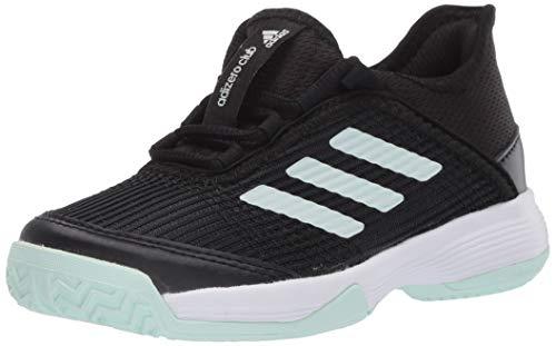 Product Image 1: adidas Unisex-Kid's Adizero Club Sneaker, core Black/Dash Green/FTWR White, 11K M US Big Kid