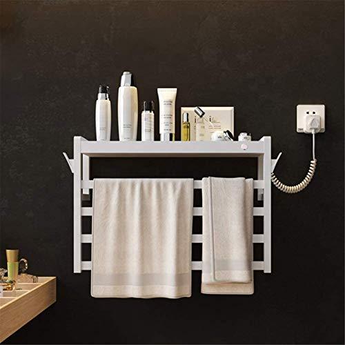Toallero Eléctrico Bajo Consumo Calentador de toallas, calentador de toalla de pared, perchero de secado con calefacción, 4 -BAR Temperatura constante de temperatura eléctrica Toalla de toalla de toal