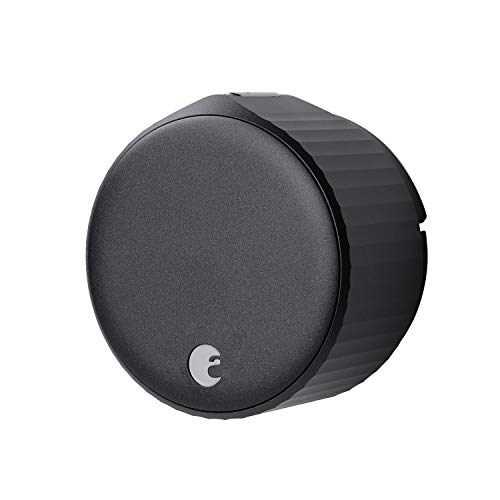 August Wi-Fi Smart Lock, 4th Generation (Matte Black)