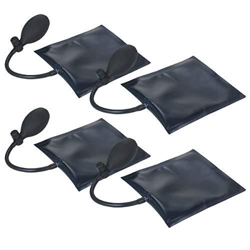 VISLONE Herramienta de alineación de bolsa de cuña de aire, herramienta de nivelación inflable de la barra de palanca de carga máxima 300 libras bolsa de suplemento para elevar puertas