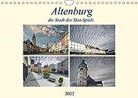 Altenburg, die Stadt des Skat-Spiels (Wandkalender 2022 DIN A4 quer): Eine aussergewoehnliche Stadt, wo immer noch Kartenspiele hergestellt werden. (Monatskalender, 14 Seiten )