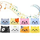 8pcs Juguetes Musicales, Piano Play Music Toy Touch Sensitive Play Safety Learn Singing Funny Toy con Caja de Embalaje(Gatitos)