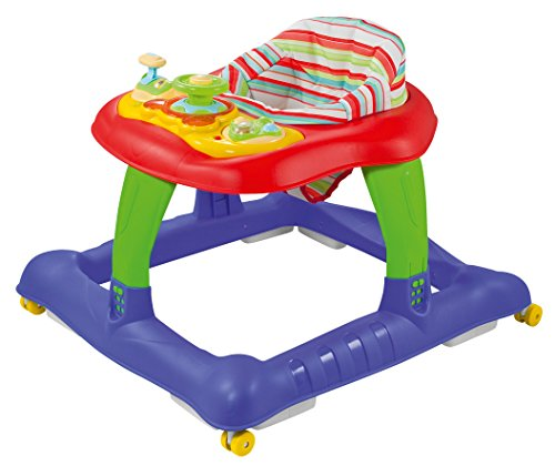 BabyGO 1505 Lauflernhilfe Walker, Mehrfarbig