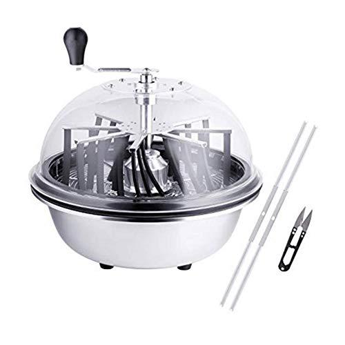 SmallPocket Leaf Bowl Trimmer Maschine, Tumble Hydroponic Leaf Trimmer Cutter Bowl 16-Zoll-Bud Trimmer Twisted Spin Cut für Pflanzenknospen und Blumen