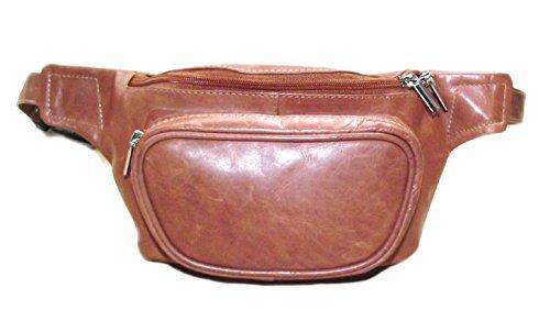 Vera Pelle Equestre phone/scrittoi Bag con possibilità di personalizzare - Marroncino, Blank (no personalisation)