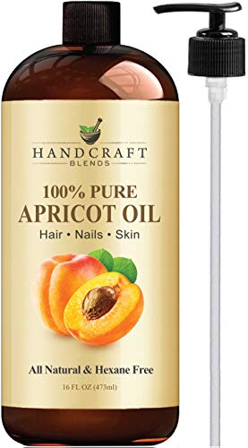 Handcraft Pure Castor Oil - 100% Pure and Natural - Premium Quality Moisturizes and Protects Dry...