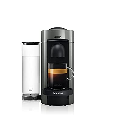Nespresso VertuoPlus Coffee and Espresso Maker by De'Longhi, Grey