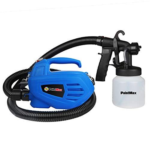 PaintMax Portable Handheld Electric 650W Paint Sprayer Gun with 3 Different Spray Pattern & 800ml Detachable Container, HVLP System & Quick Refill Lid