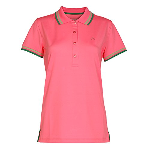 ALBERTO Damen Golfshirt Poloshirt Isy Dry Comfort rosa Gr. 40