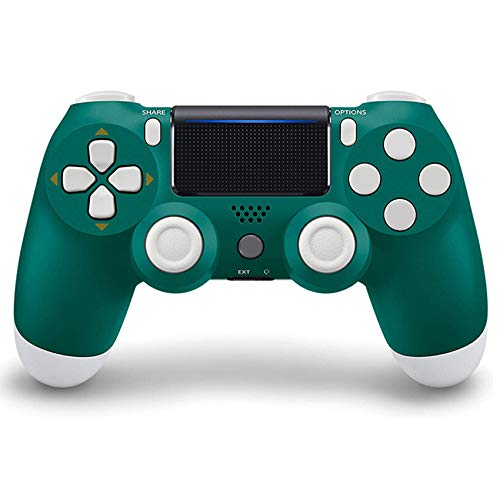YQA Controlador Inalámbrico para Playstation 4 / Pro/Slim, Consola de Juegos PS4 Gamepad Bluetooth Control Inalámbrico VibracióN Dual,Alpine Green