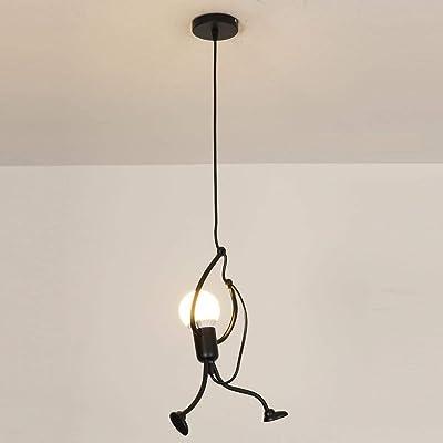 Planchar Luz colgante, lámparas de techo de diseño creativo ...