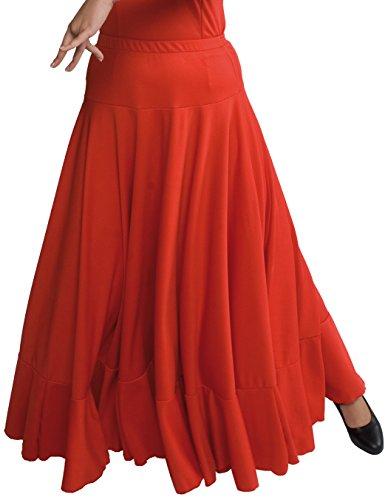 Happy Dance 147 - Falda de flamenco para mujer