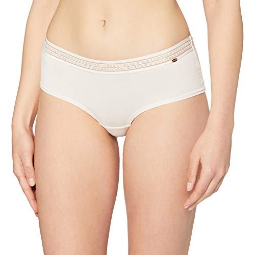Skiny Damen Sensual Light Pant Panties, Elfenbein (Angelwing 0200), 40