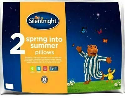 Silentnight 2 x bounce back pillows -SPRING IN TO SUMMER