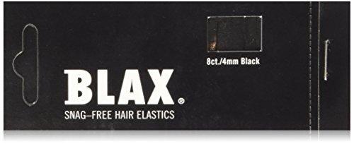 Blax Snag-Free Hair Elastics Haargummi 8 Stück Pink