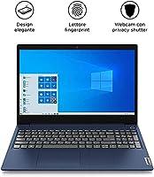 """Lenovo IdeaPad 3 Notebook - Display 15.6"""" Full HD TN (Processore Intel Core i3-1005G1, 512 GB SSD, RAM 8 GB, Fingerprint, Windows 10) - Abyss Blue #1"""