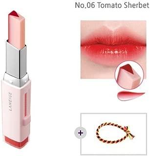 Laneige Two Tone Tint Lip Bar 0.07oz(2g) No.06 Tomato Sherbet