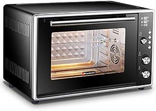 L.TSA Cocina Horno eléctrico de 50L Tostadora de Pastel automática multifunción Horno eléctrico de Gran Capacidad Electrodomésticos Cocina de Cocina