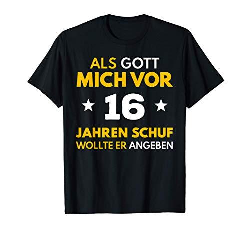 16. Geburtstag Junge Mädchen 2005 16 Jahre Party Geschenk T-Shirt