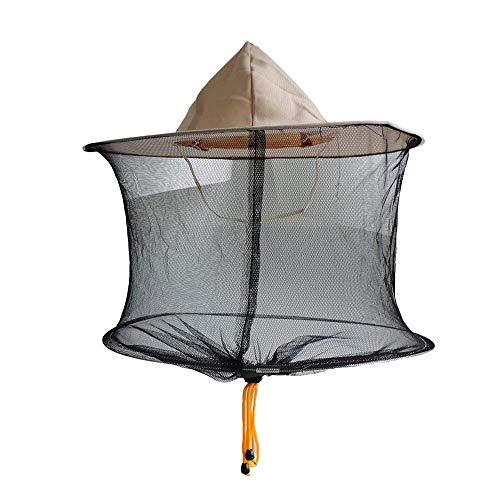 Imkerei Hut Imker Cap Midge Moskito Fly Bug Net Prävention Cap Mesh Angeln Hut Outdoor Sonnenschirm Kopfbedeckung