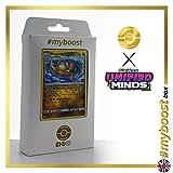 Dragonite (Dracolosse) 151/236 Holo Reverse - #myboost X Sun & Moon 11 Unified Minds - Coffret de 10 Cartes Pokémon Aglaises