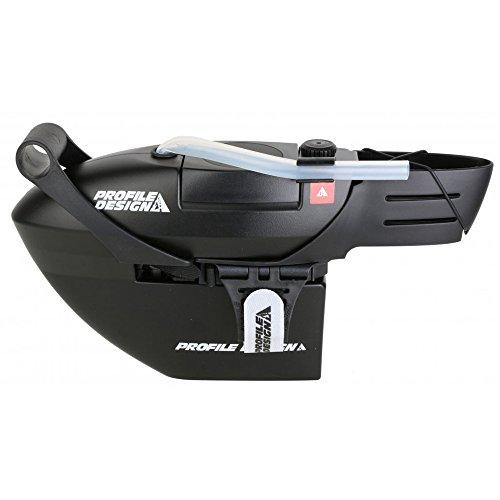 Profile Design FC25 Aero Borraccia con valvola a morso (nero)