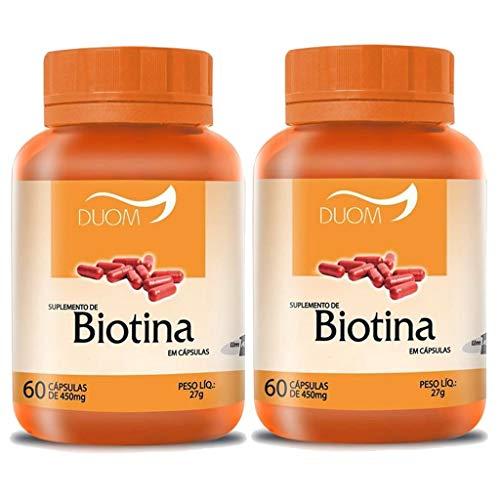Kit 2 Und Biotina 60cps 450mg