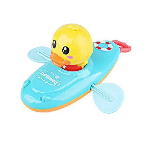 Dettelin Juguete de baño de Pato, baño de baño Flotante para bebés, Juguetes de Juego de Agua para niños y niñas 1,2, 3+ años