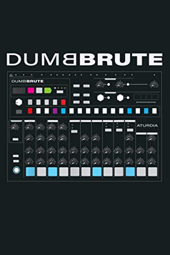 Dumb Brute Groove Box Analog Drum Machine: Notebook Planner - 6x9 inch Daily Planner Journal, To Do List Notebook, Daily Organizer, 114 Pages