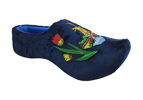 Zapatillas hombre holandeses azul (45-47)
