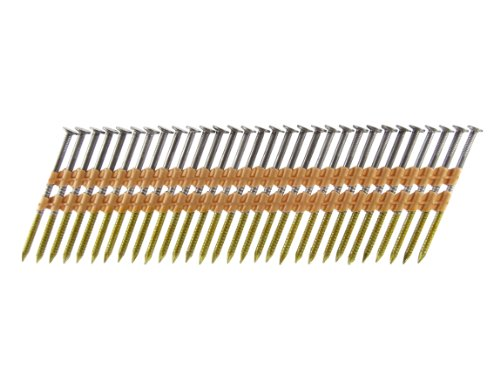 B&C Eagle A238X113R/22 Round Head 2-3/8-Inch x .113 x 22 Degree Bright Ring Shank Plastic Collated Framing Nails (500 per box)