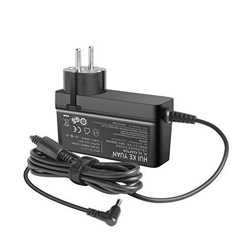HUIKEYUAN 19V Netzteil Ladegerät AC Adapter Ersatz für LG ADS-40FSG-19 19025GPG-1, LG 22M45, E2249, E1948SX, W1947CY Monitor, P/N:EAY62768621 EAY62790007 EAY62768607 EAY6254920