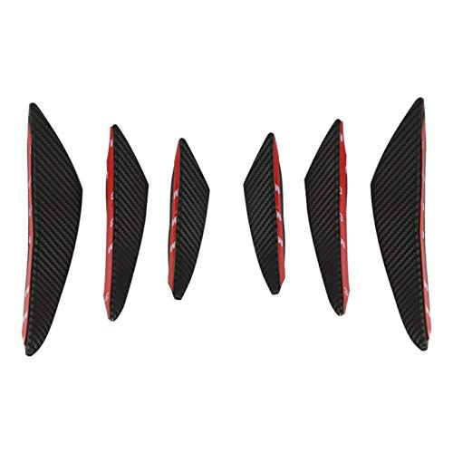 Ba30DEllylelly Universal Surface Front Stoßstange Lip Splitter Diffusor Winglets für Auto, Auto Stoßstange Splitter Spoiler