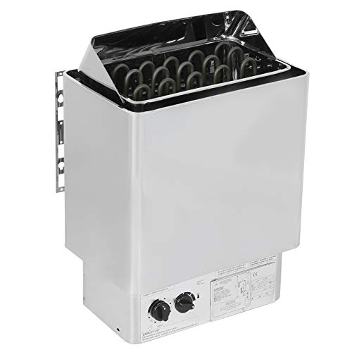 hong Saunaofen, 9,5 kW Edelstahl-Saunaofenheizung mit Knopf Digitalanzeige-Controller, für Apartments, Hotels, Innenpools, Dampfbäder 220-380V