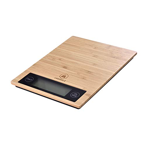 LAGUIOLE - Balance de Cuisine Electronique en Bambou - Bambou - marron