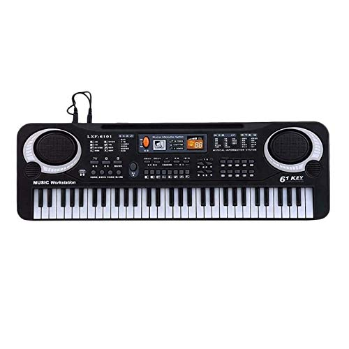 KAPAYONO 61 Tasten Digitale Multifunktionsmusik Elektronische Tastatur Tastatur E-Piano Kinder Geschenk Eu Stecker