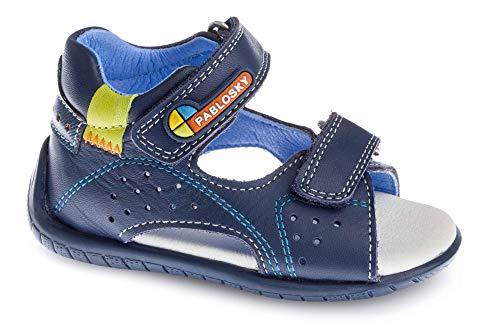 Pablosky Baby-Jungen 091522 Sandale, blau, 20 EU