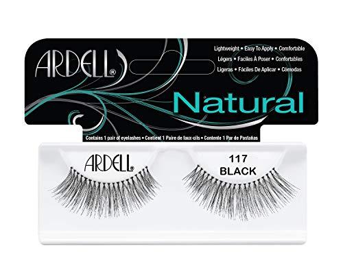Preisvergleich Produktbild Ardell Fashion Lashes 117,  das Original,  black,  1er Pack (1 x 1 Paar)