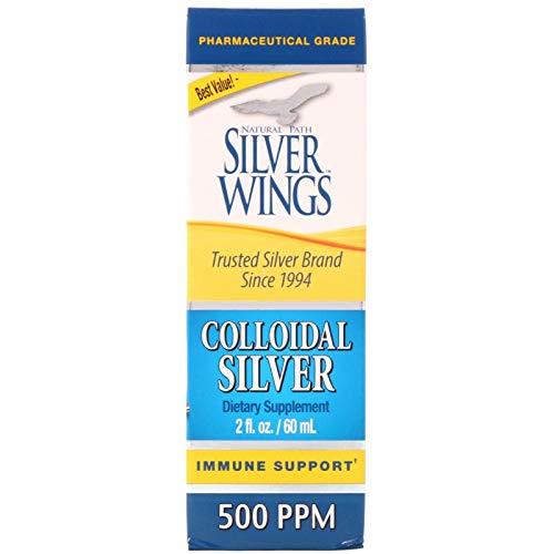 Natural Path, Colloidal Silver 500 Ppm, 2 Fl Oz