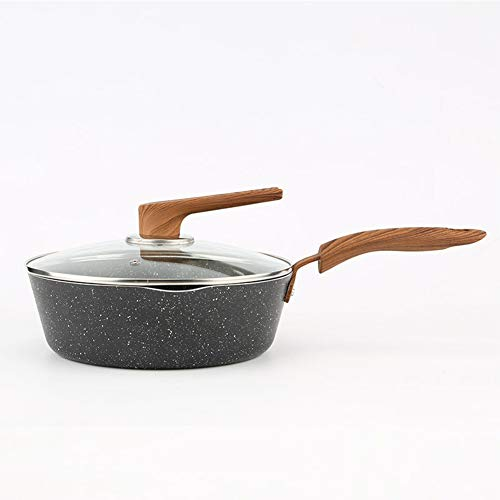 QAQWER Frying Pan, Maifanshi Frying Pan Nonstick Wok, Gasfornuis, Inductie Cooker Algemeen Doel