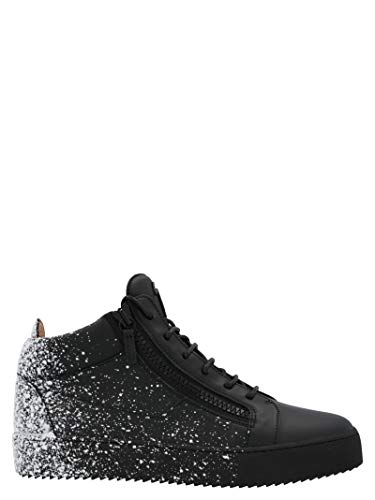 Giuseppe Zanotti Luxury Fashion Design Herren RU00025002 Schwarz Leder Hi Top Sneakers | Herbst Winter 20